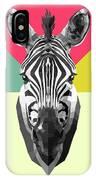 Party Zebra  IPhone X Case