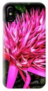Pink Princess Bromeliad IPhone Case