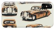 Retro Rides IPhone Case