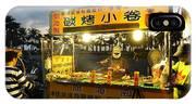 Street Vendor Cooks Grilled Squid IPhone Case
