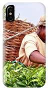 Tea Picker In Kenya IPhone Case