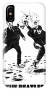 The Beatles Black And White Watercolor 01 IPhone Case