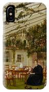 The Family Of Mr  Westfal In The Conservatory  IPhone Case