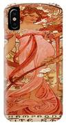 Vintage Poster - Champagne IPhone Case