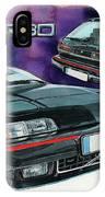 Volvo 480 Turbo IPhone Case
