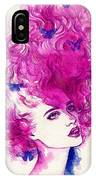 Woman Face. Hand Painted Fashion IPhone Case