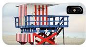 13th Street Lifeguard Tower - Miami Beach IPhone Case
