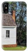 1809 Macarthy - Pope House - Clinton, Georgia 2 IPhone Case