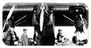 1920s 1930s Group Of Passengers Waiting IPhone Case