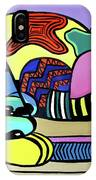 A Cat Named Picasso IPhone Case by Anthony Falbo
