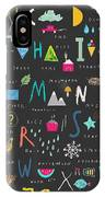 Cute Alphabet. Letters And Words. Learn IPhone X Case