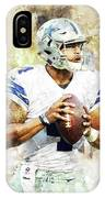 Dallas Cowboys.dak Prescott. IPhone Case