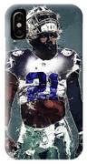 Dallas Cowboys.ezekiel Elliott. IPhone Case