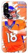 Denver Broncos.peyton Manning. IPhone Case