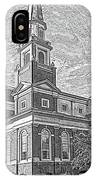First Baptist Church Columbia IPhone Case