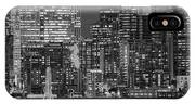 Illuminated City At Night, Seattle IPhone Case