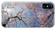 Low Angle View Of Cherry Blossom Trees IPhone X Case