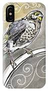 2018 Septembird 16 Myna Bird IPhone Case
