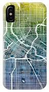 Minneapolis Minnesota City Map IPhone X Case