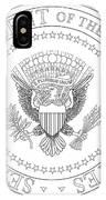 Presedent Seal IPhone Case