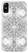 Background Of Geometric Shapes IPhone Case