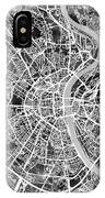 Cologne Germany City Map IPhone Case