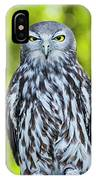 Barking Owl IPhone Case by Rob D Imagery
