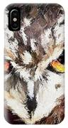 Eurasian Eagle Owl IPhone Case