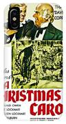 A Christmas Carol Movie Poster 1938 IPhone X Case
