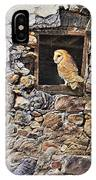 A New Home Barn Owl IPhone Case by Alan M Hunt