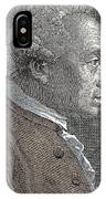 A Portrait Of Immanuel Or Emmanuel Kant IPhone Case