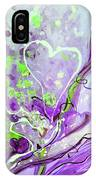 A  Purple Love Story IPhone Case