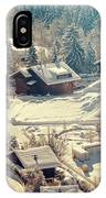 A Quaint Village In The Swiss Alps IPhone X Case