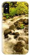 A River Turns IPhone Case