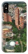A View Of Downtown Bogota IPhone Case