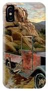 Abandoned In The Desert IPhone Case