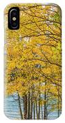 Abraham Lake IPhone Case