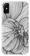Abstract Floral Background. Vector IPhone Case