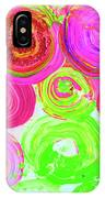 Abstract Flower Crowd IPhone Case