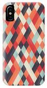 Abstract Geometric Background For IPhone X Case