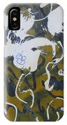 Abstract Human Figure IPhone Case