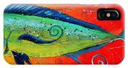 Abstract Mahi Mahi IPhone Case