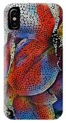 Abstract Orchids.  IPhone Case