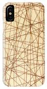Abstract Web Background IPhone Case