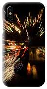 Abstracted Christmas - Luminous Fairy Lights Patterns IPhone Case