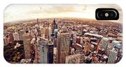 Aerial View Of Downtown Sydney At IPhone Case