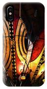 African Shields At Ak Lodge IPhone Case