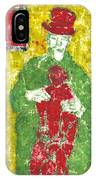 After Billy Childish Painting Otd 23 IPhone Case
