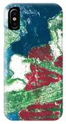 After Billy Childish Painting Otd 33 IPhone Case