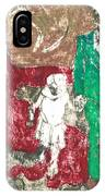 After Billy Childish Painting Otd 43 IPhone Case
